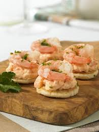 canapes with prawns frank dale foods prawn cocktail blinis