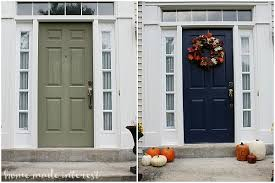 Painting Exterior Doors Ideas A Simple Fall House Update How To Paint An Exterior Door Home
