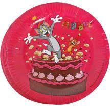 tom jerry tomjerry paper horns pack 6 kadens 1st bday