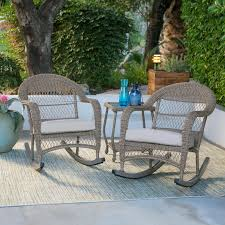 patio rocking chairs black rattan outdoor rocking chairs for patio