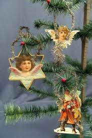 Victorian Christmas Ornaments - victorian christmas trees tinsel u2013 halloween wizard