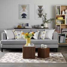 Living Rooms With Grey Walls Home Design - Living room design grey