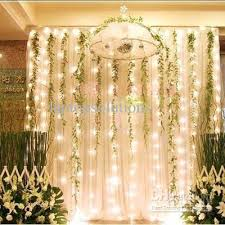 New Year Garden Decoration by 800leds Led Curtain String Christmas Lights Garden Lamps New Year