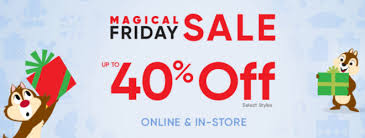 up to 40 disney store black friday sale live now