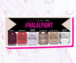 muslim orly halal nail polish collection