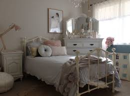 girls single size claremont cast iron bed vintage white bedrooms