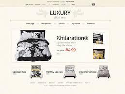 website template 35652 luxury bed linen custom website template
