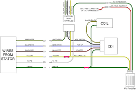 ac dc 6 pin cdi wire schematics only 0 01 with cdi wiring diagram