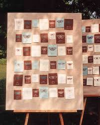 outdoor card displays martha stewart weddings