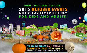 2015 october events near fayetteville nc u2014trunk or treats