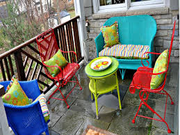 How To Paint Wrought Iron Patio Furniture by Colored Bedroom Furniture Best Color For Outdoor Furniture