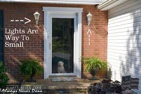 front door house front door light facelift always never done 5