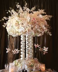 White Floral Arrangements Centerpieces wedding wednesday elevated centerpieces flirty fleurs the