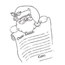 30 cute santa claus coloring pages