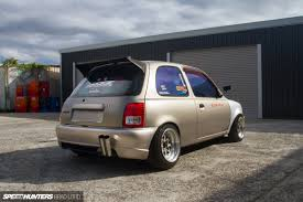 nissan micra quarter mile welcome to the mouse house speedhunters