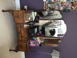 Tall Boy Table Antique 1920s Dressing Table And Tall Boy Chest Of Drawers For