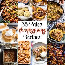 35 paleo thanksgiving recipes gf df refined sugar free the