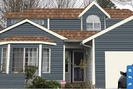 trim that goes with brown paint residential exterior paint color