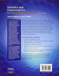 buy statistics and chemometrics for analytical chemistry book