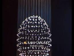 licht und design s luce galaxy kristall leuchte licht design skapetze www skapetze