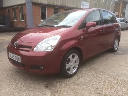 used toyota corolla verso cars for sale motors co uk