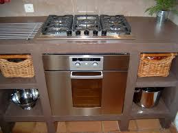 realiser une cuisine en siporex cuisine en siporex finition béton ciré cuisine
