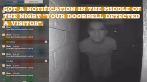 ring doorbell reddit got a notification in the middle of the night saying your doorbell