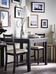 ikea black brown dining table dining room furniture ikea uk dayri me