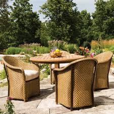 round teak dining table lloyd flanders 48 round distressed teak dining table 286048