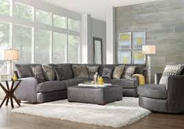 Rooms To Go Living Room Furniture by Skyline Drive Gray 2 Pc Sectional Living Room Sets Gray