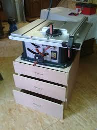 diy table saw stand how to build a table saw stand tisch für tischkreissäge wood