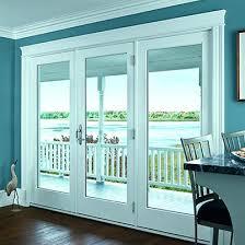 Window Blinds Patio Doors Bedroom Top Patio Doors In Anderson Windows With Blinds Between