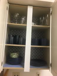 should i put shelf liner in new cabinets the cupboards did not spark so i put in some shelf