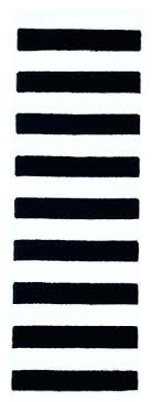 Black And White Striped Runner Rug Black And White Striped Rug Runner Stripe Runner Rug Black And