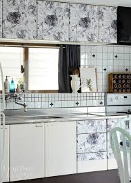 Transform Your Kitchen Cabinets Without Paint  Ideas Hometalk - Contact paper kitchen cabinets