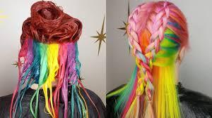 rainbow color hair ideas rainbow hair color ideas trending for 2018 amazing hair