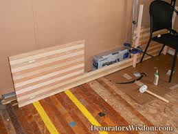 Diy Wood Kitchen Countertops by Diy Wood Countertop How To U2013 Decorator U0027s Wisdom