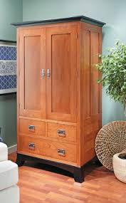 Dark Cherry Armoire Cherry Armoire Woodsmith Plans Woodworking Plans Pinterest