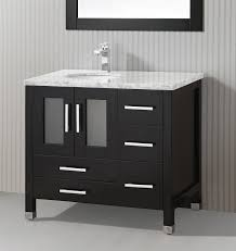 Modern Vanity Cabinets For Bathrooms 36 Inch Single Sink Modern Vanity Cabinet