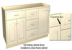full overlay face frame cabinets face frame overlay cabinet hinges home design