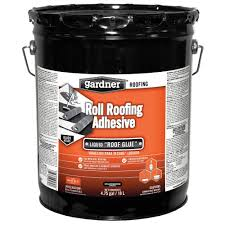 Henry Rubberized Wet Patch by Gardner 4 75 Gal Roll Roofing Adhesive 0365 Ga The Home Depot