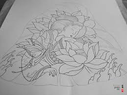 tattoo flower drawings japanese flower drawing japanese tattoo geisha butterfly pencil