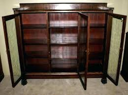 Vintage Bookcase With Glass Doors Lawyer Bookcase With Glass Doors Bookcase With Glass Doors