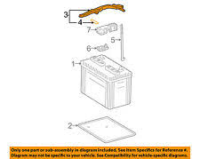 2005 toyota tacoma battery battery trays for toyota tacoma ebay