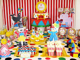 Carnival Themed Table Decorations 44 Best Kids Circus Theme Party Images On Pinterest Carnival