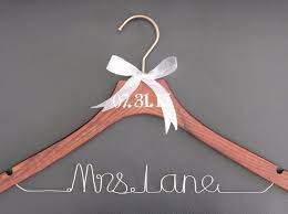 personalized wedding hangers personalized wedding hanger for and groom wire wedding