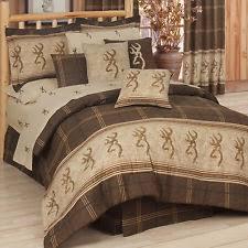 Comforter Set With Sheets Browning Buckmark Bedding Ebay