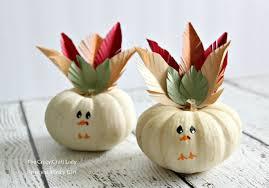 turkey mini pumpkins craft an easy thanksgiving craft