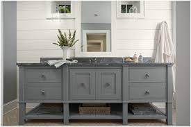 bathroom white paint wood paneling with sink grey bathroom