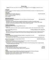 sample engineer resumes 9 engineer resumes free sample example format download free
